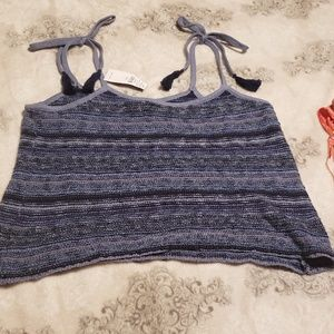 AMERICAN EAGLE cropped sweater tank top